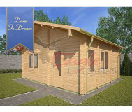 Residential Cabins 20 - 297 5.7m x 5.0m