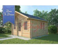 Residential Cabins 318 4.0 m x 4.0 m