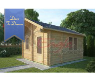 Residential Log Cabins 420 4.0 m x 4.0