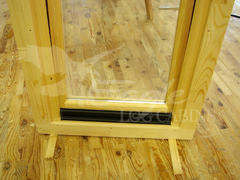 Eagle Log Cabin Doors And Windows